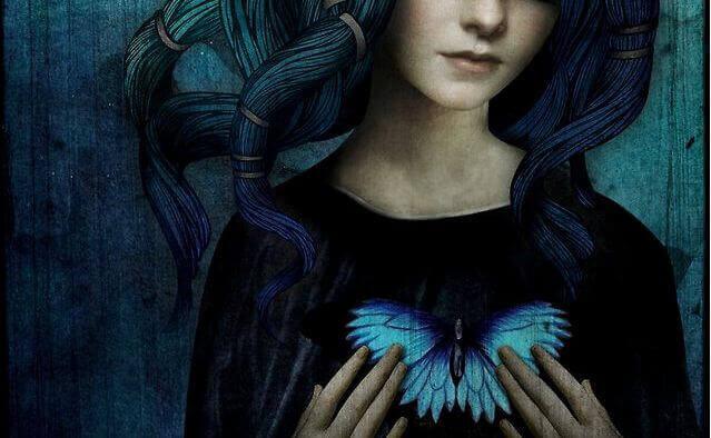 Risultati immagini per farfalla ragazza